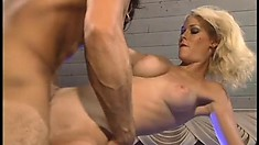 Hot porn babe Phoenix Ray sucks and gets drilled by Nikko Knight in a restaurant