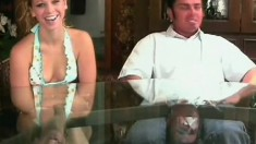 Hailey Bang gets her tight pussy crammed full of throbbing cock